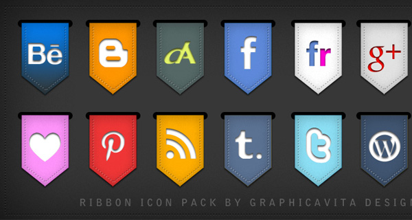 Ribbon Icon Set