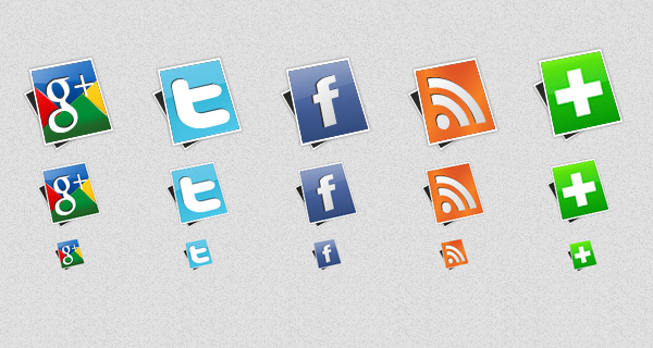 Social icons pack 2