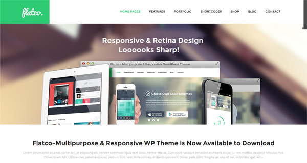 Flatco WordPress Theme