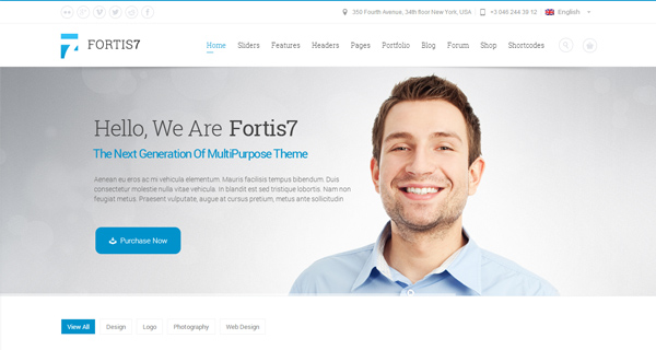 Fortis7 WordPress Theme