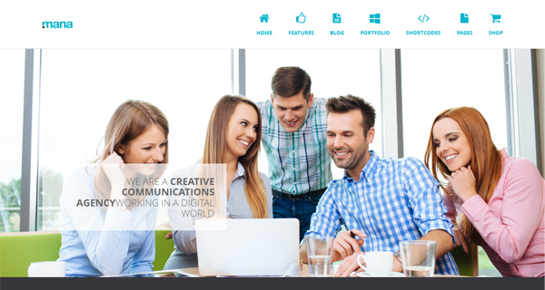 Mana WordPress Theme