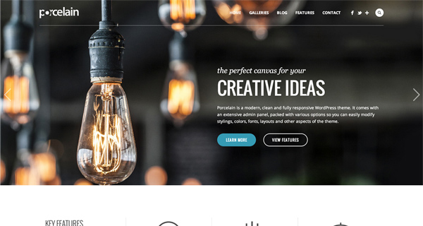 Porcelain WordPress Theme