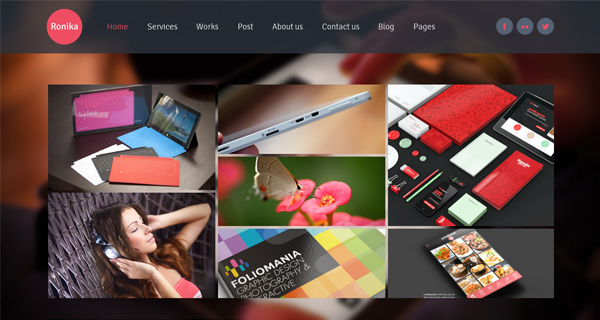 Ronika WordPress Theme