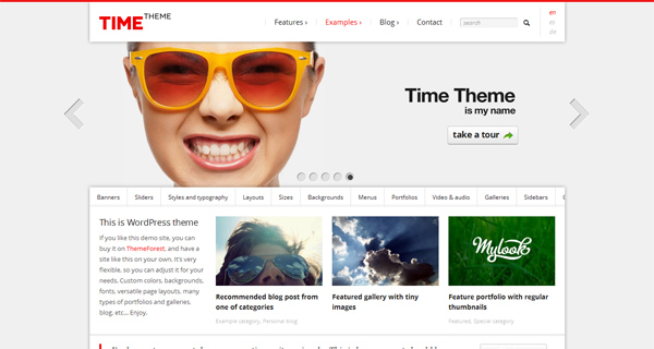 Time WordPress Theme