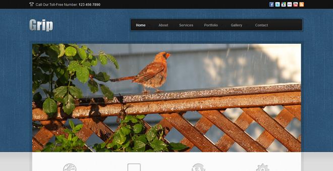 Grip Corporate Business - HTML Template